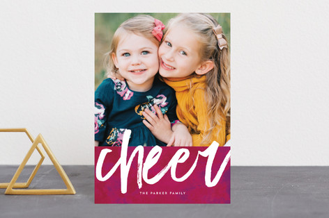 Merry and bold Holiday Postcards