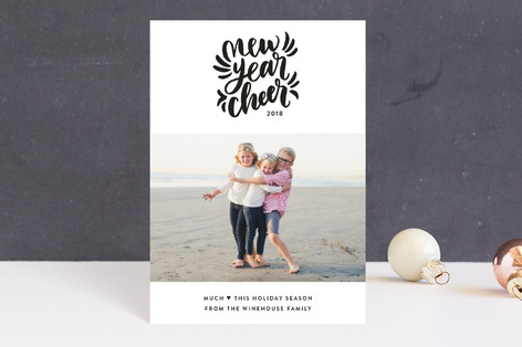 New Year Cheerful Holiday Postcards