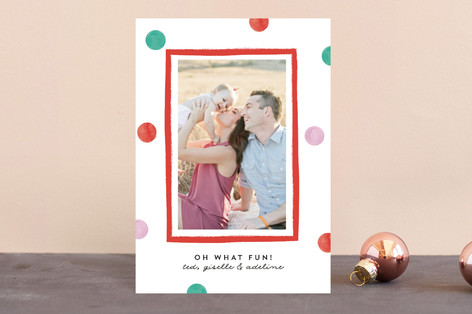 Polka Dot Days Holiday Postcards
