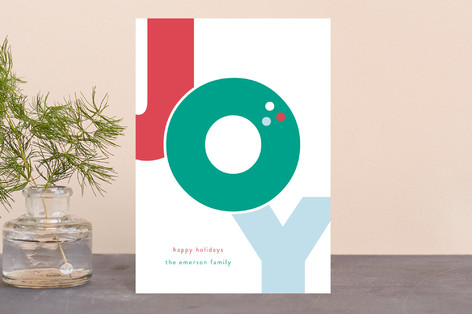 Bold Joy Holiday Postcards