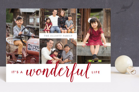 Oh So Wonderful Holiday Postcards
