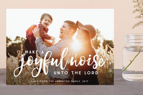 Make a joyful noise Holiday Postcards