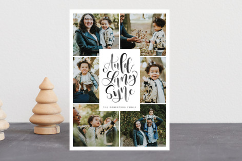 Auld Lang Syne Holiday Postcards