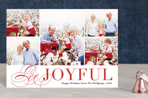 Bursting with Joy Holiday Postcards