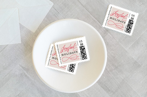 Classic Love Holiday Stamps