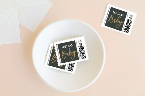 baby cheer Holiday Stamps