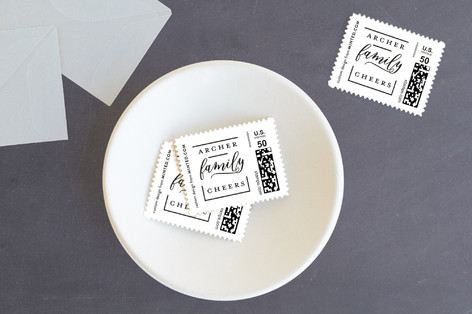 Meet the New Member Holiday Stamps