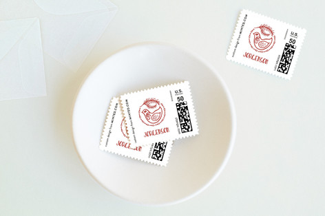 Scandinavian Wishes Holiday Stamps