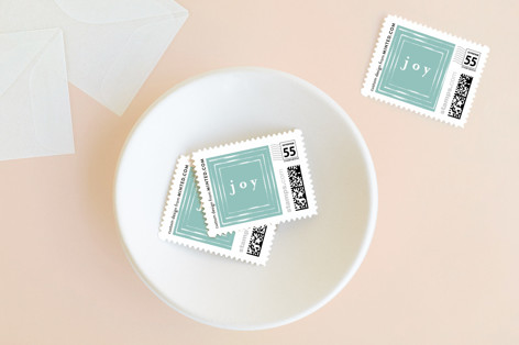 chiffon Holiday Stamps