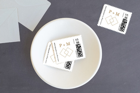Elegant Future Holiday Stamps