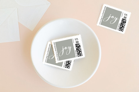 Festive Family Holiday Stamps