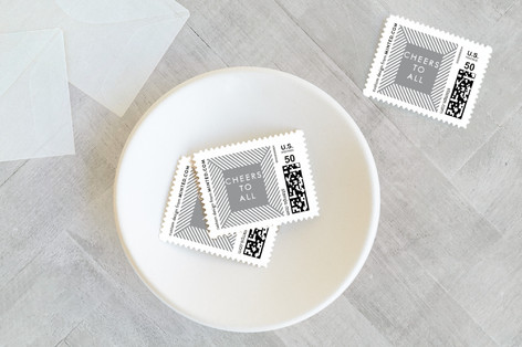 Ribbons Holiday Stamps