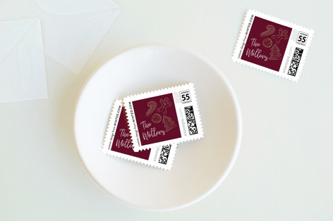 Holiday Cookie Party Holiday Stamps