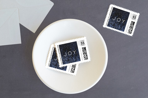 It's a silent night Holiday Stamps