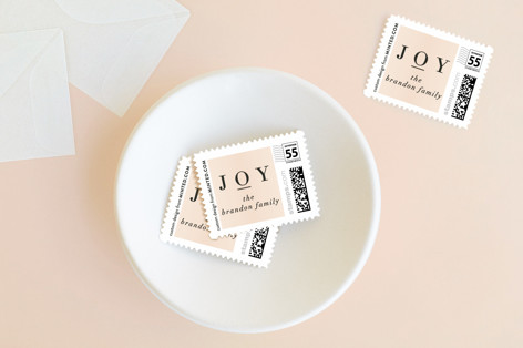 Present Holiday Stamps