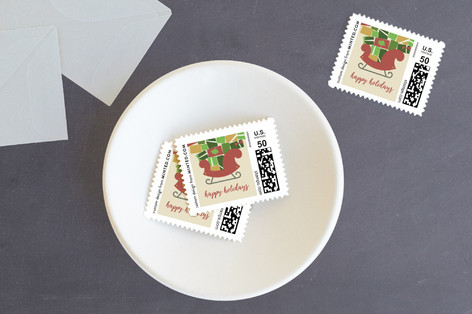 Overflowing with Joy Holiday Stamps