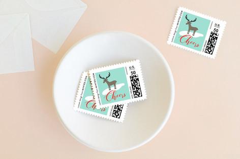 Winter Wonderland Holiday Stamps