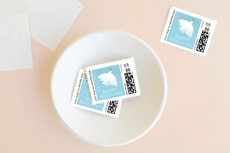 Peace Holiday Stamps