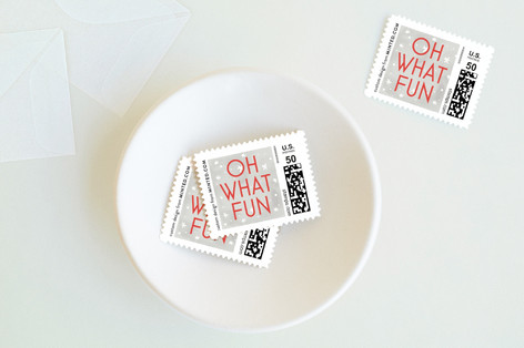 Oh What Fun Holiday Stamps