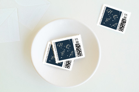 Noel Wishes Holiday Stamps