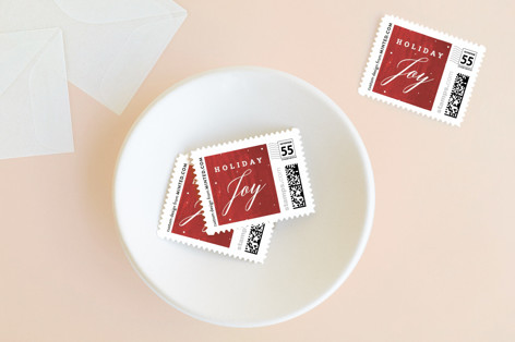 Classic Holiday Moving Holiday Stamps