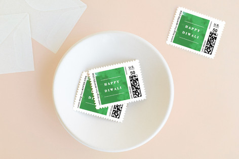 Saffron Holiday Stamps