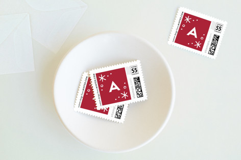 Merrily Intertwined Holiday Stamps