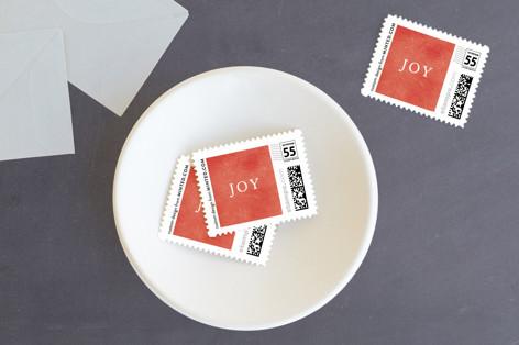 Unbridled Joy Holiday Stamps