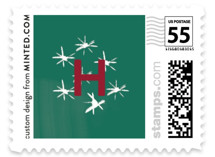 Christmas Brush Letters by Inkblot Design
