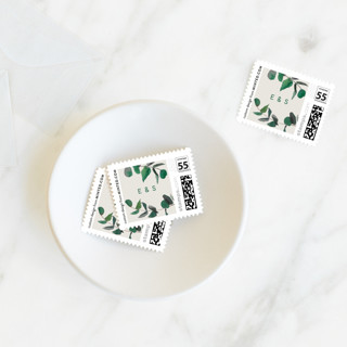 eucalyptus Holiday Stamps