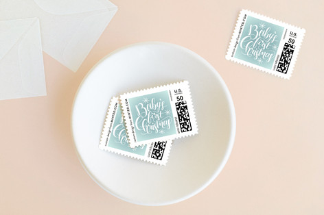 Starry First Holiday Stamps