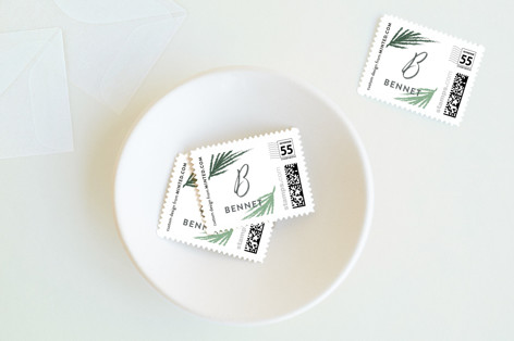 Modern sentiment Holiday Stamps
