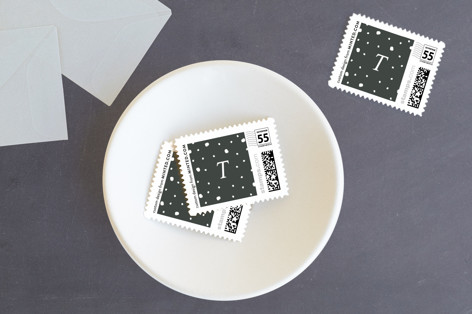 Simple Snow Holiday Stamps