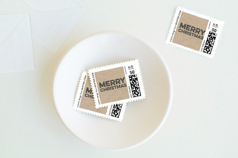 Krafty Holiday Stamps