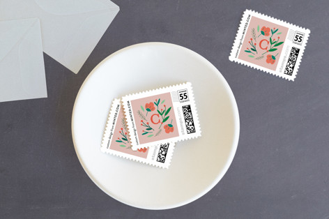 Peace Dove Botanicals Holiday Stamps