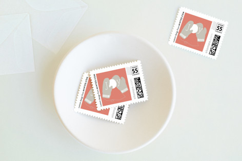 Mittens Holiday Stamps