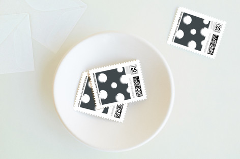 Snow Flake Holiday Stamps