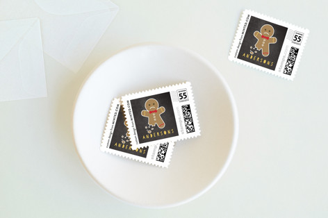 Poor little Ginger Holiday Stamps