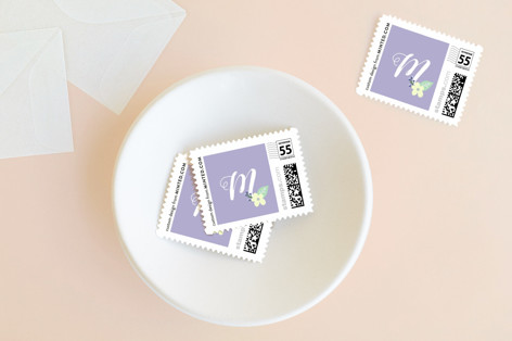 Easter Bunny Ears Holiday Stamps