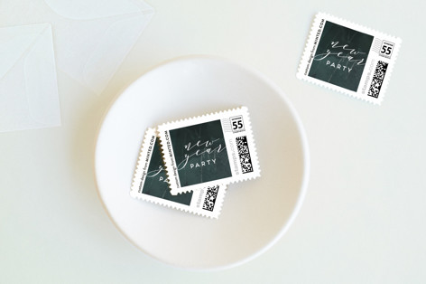 Shimmering Night Holiday Stamps