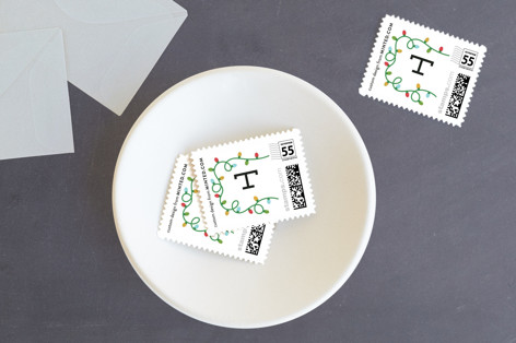 Brightest & Tackiest Holiday Stamps