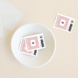 Striped Gift Tag Holiday Stamps