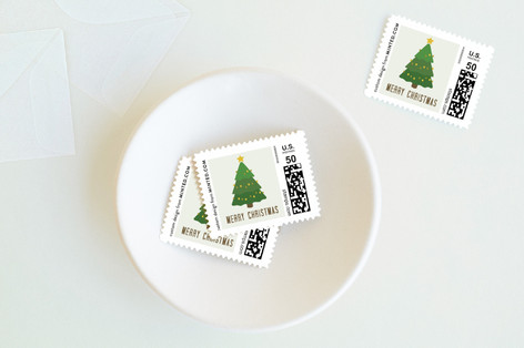 Winter Wash Holiday Stamps