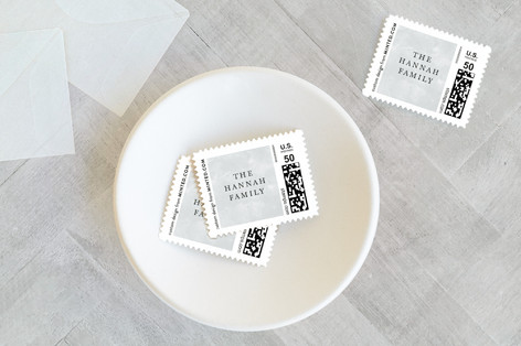 New Year Gratitude Holiday Stamps