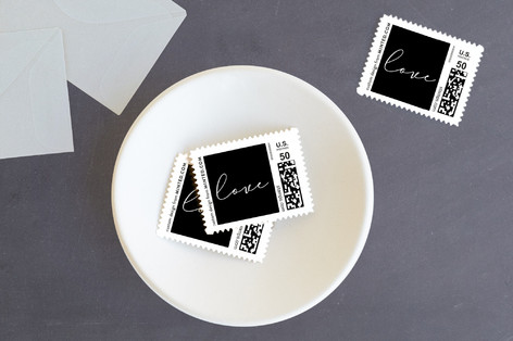 Love one another Holiday Stamps
