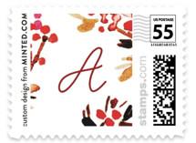 Boho Vine Joy Holiday Stamps