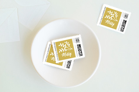 Blessings for Christmas Holiday Stamps