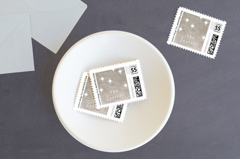 Cross Glory Holiday Stamps