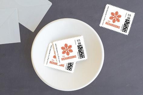 Winter Sketchbook Holiday Stamps