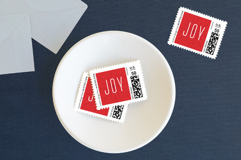 Joyful and Triumphant Holiday Stamps